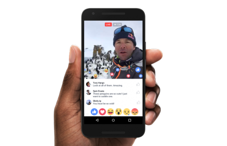 Video Live Streaming Facebook
