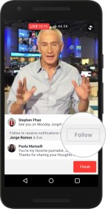 Video Live Streaming di Facebook